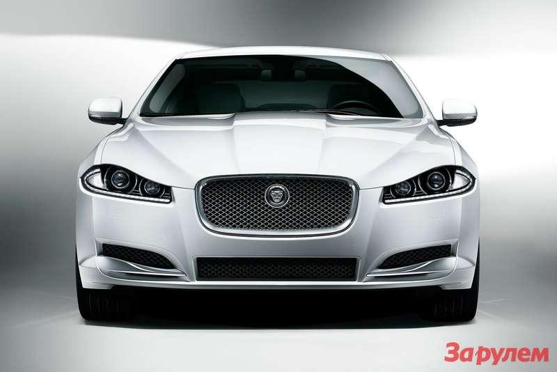 Jaguar XFfront view