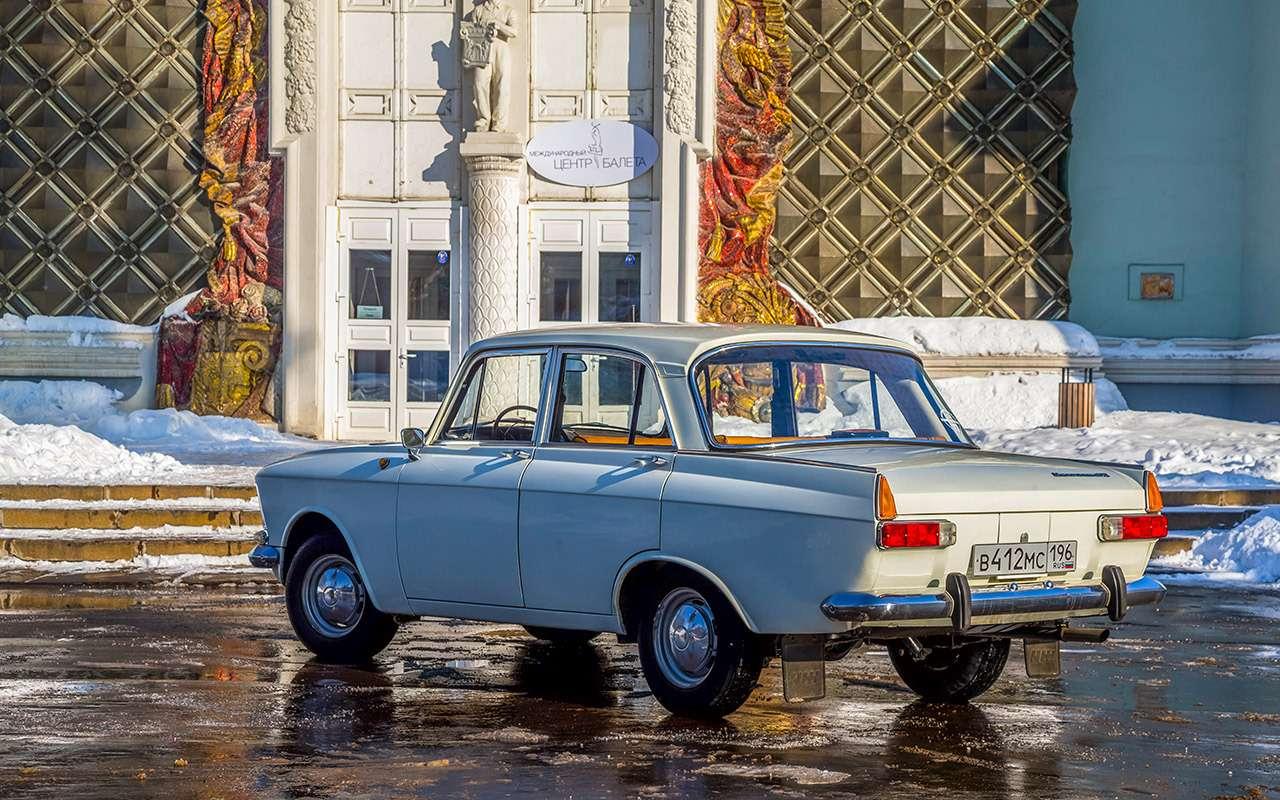 Советские автомобили против иномарок— супертест кюбилею— фото 858353
