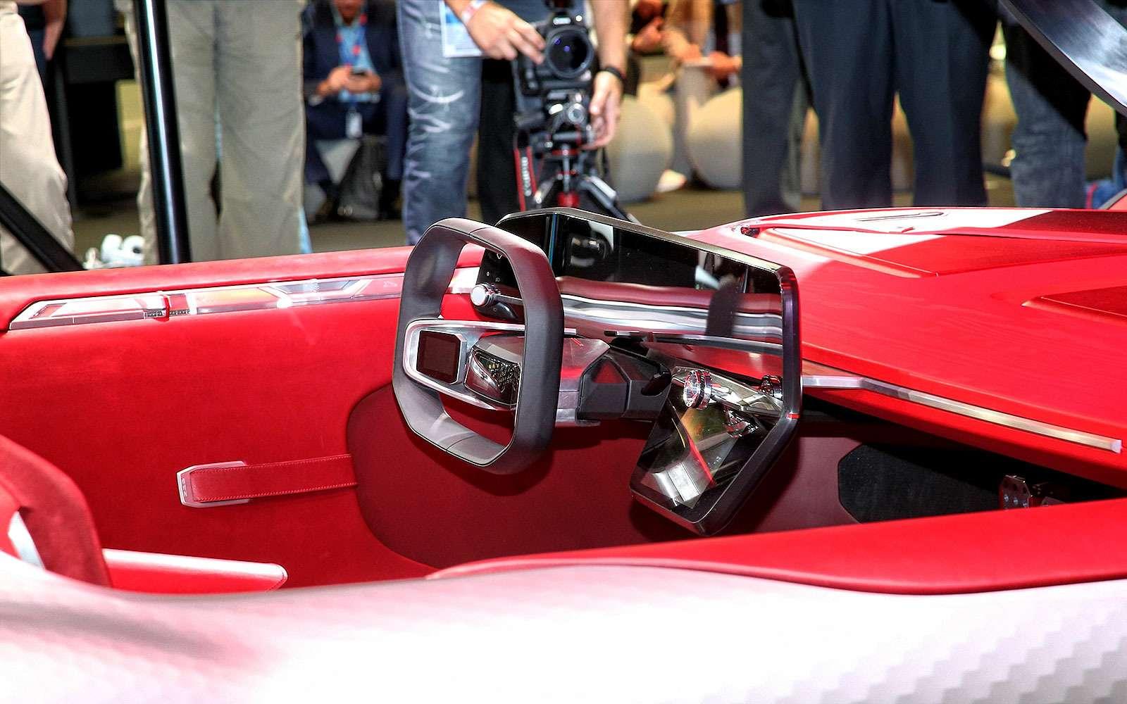 Renault Trezor: почти космос— фото 642506