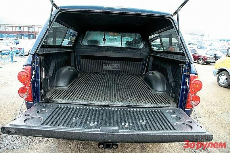 Длина грузового отсека— от1900до 2400мм (вразных комплектациях).