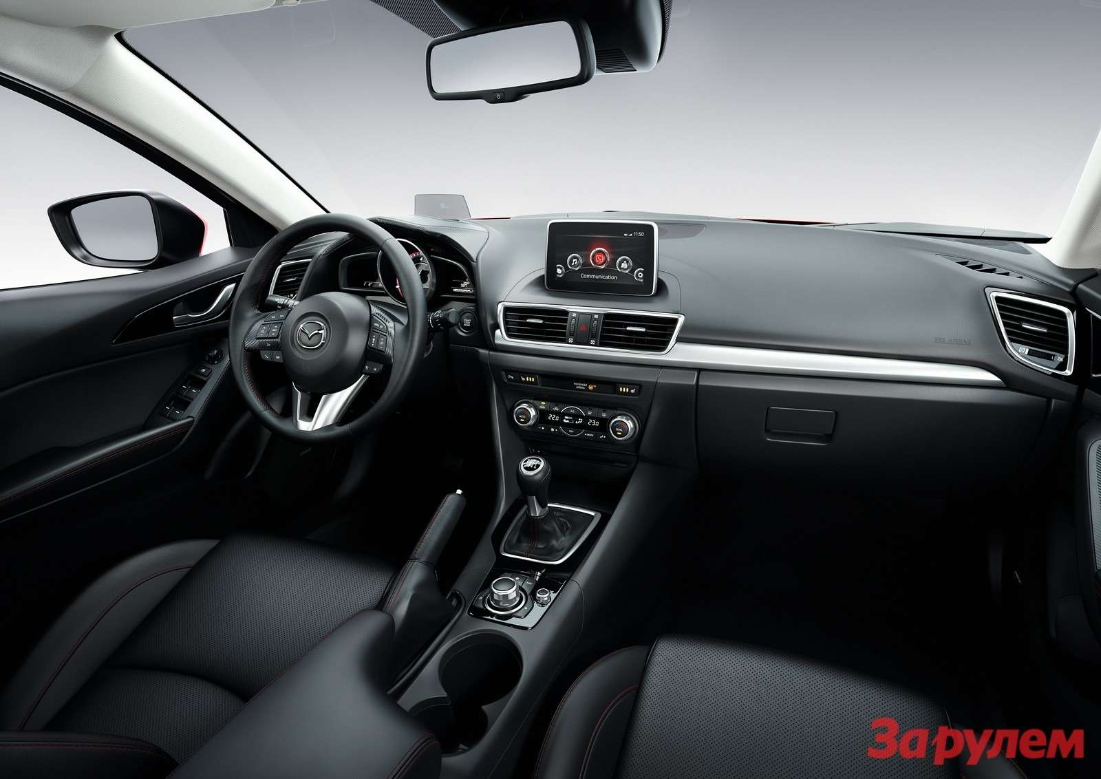 Mazda3 Hatchback 2013 interior 02copy