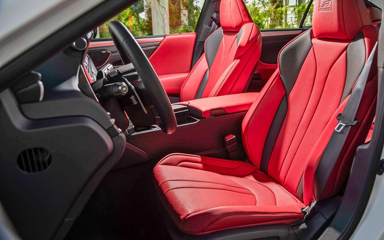 Новый Lexus ES— тест самых «вкусных» модификаций— фото 892659