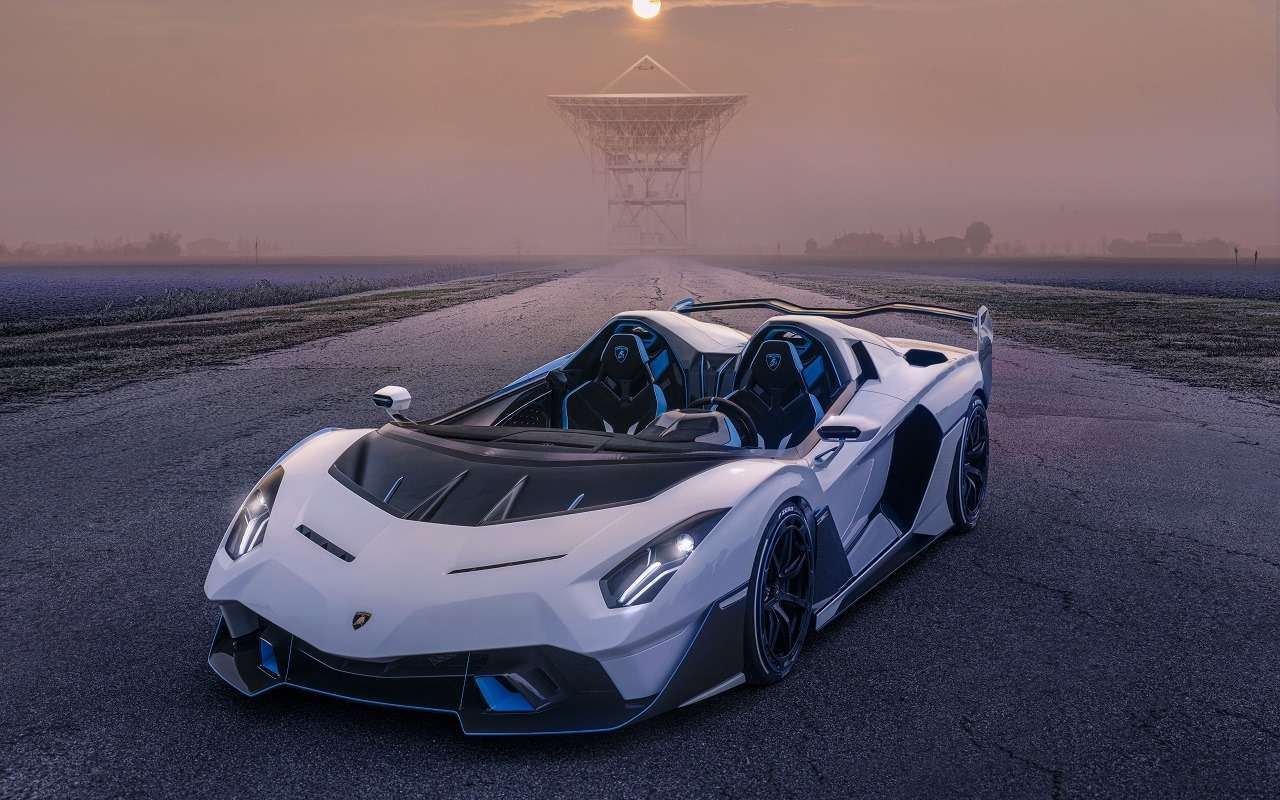 Снос крыши: посмотрите нановый спайдер Lamborghini SC20— фото 1210301
