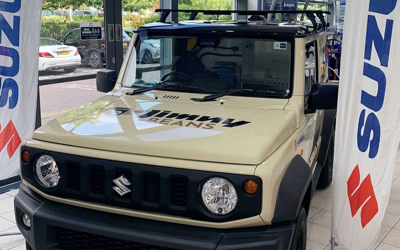 Suzuki Jimny превратили вмобильную кофейню— фото 1274629