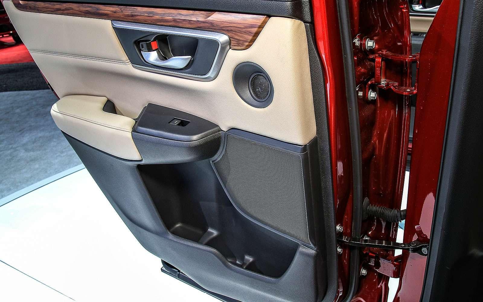 Пятый пошел: Honda представила кроссовер CR-V нового поколения— фото 665129