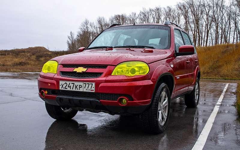Chevrolet Niva изпарка ЗР: 102000км наодометре