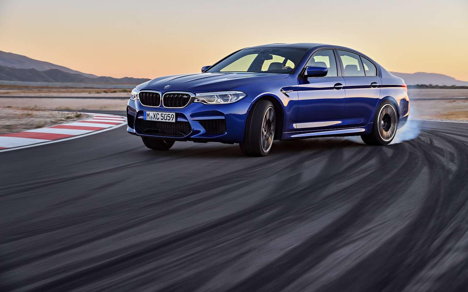 Новый BMW M5: спортседан накаждый день (идлядрифта)— фото 786408