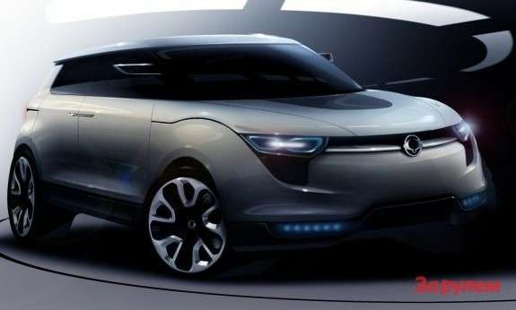 SsangYong XIV-1teaser side-front view