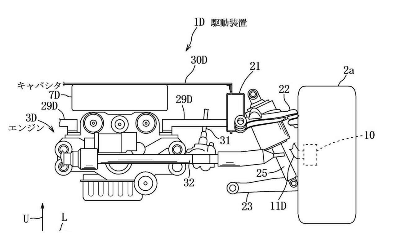 Mazda запатентовала новую силовую установку иполный привод— фото 1117997