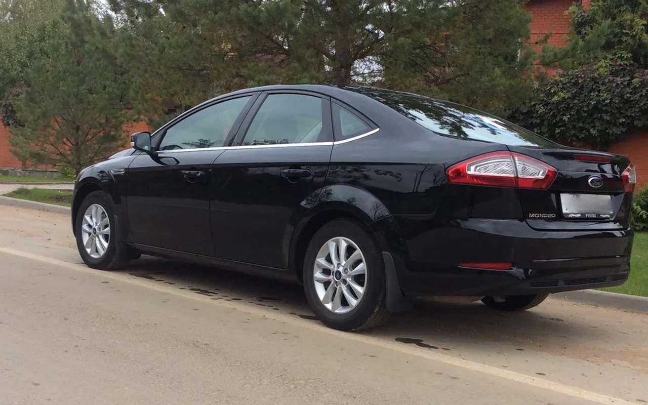 Новый Focus или подержанный Mondeo: выбираем Ford— фото 818242
