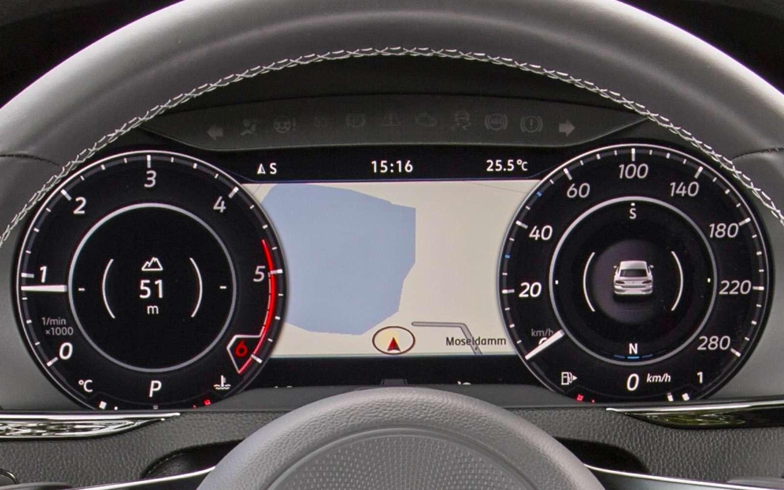 Volkswagen Arteon— первый тест-драйв— фото 768780