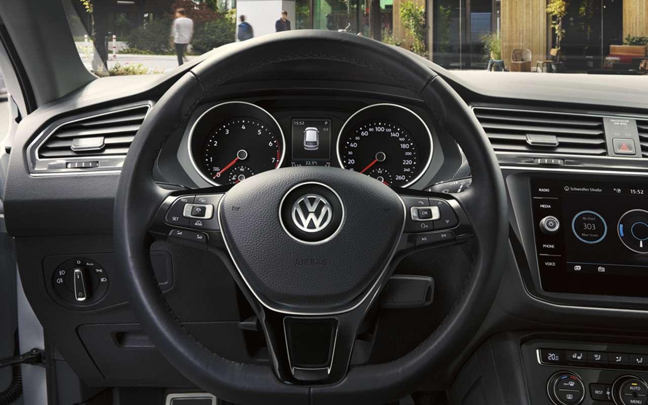 Появилась новая версия Volkswagen Tiguan— GO!— фото 1137420