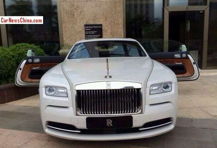 no copyright rolls royce wraith china 3