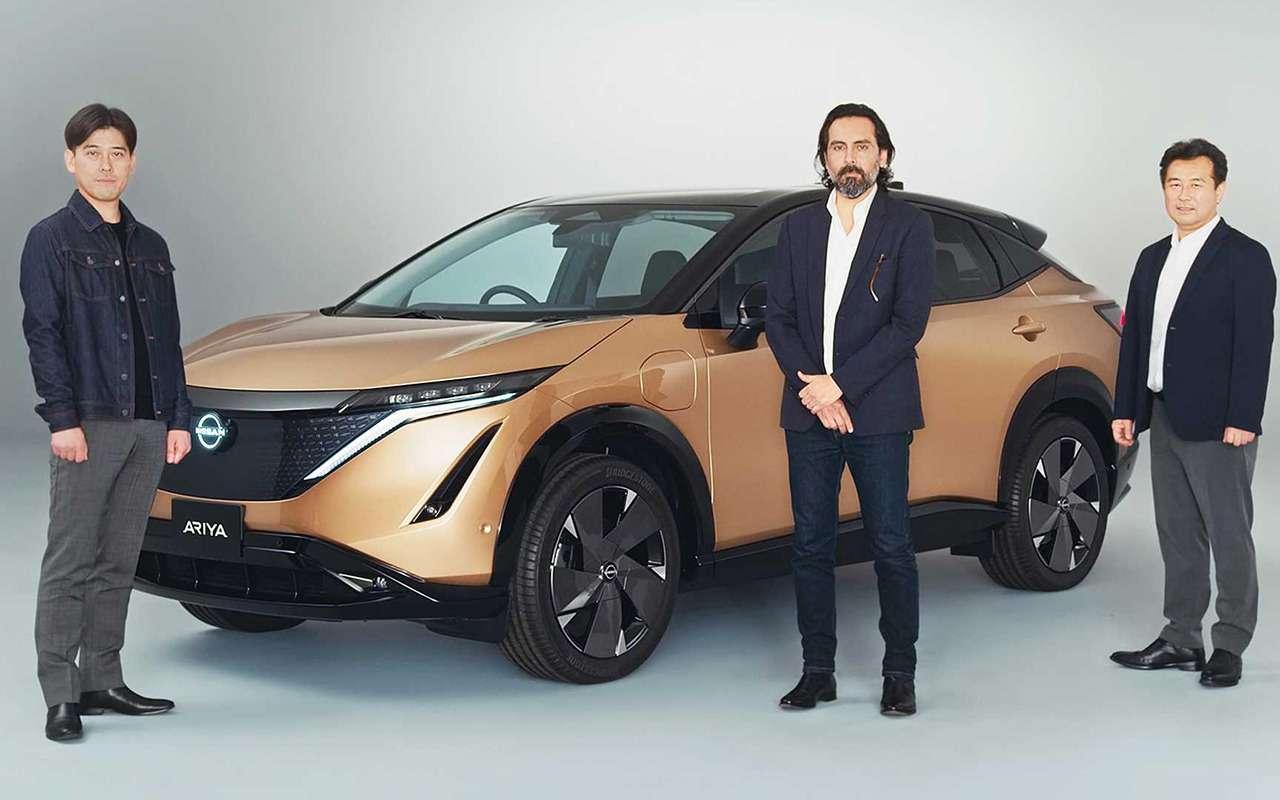 Nissan Ariya— мировая премьера новой надежды бренда— фото 1145160