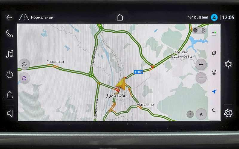 VW Taos, Kia Seltos, Nissan Qashqai: как они выглядят?  а как насчет навигации?