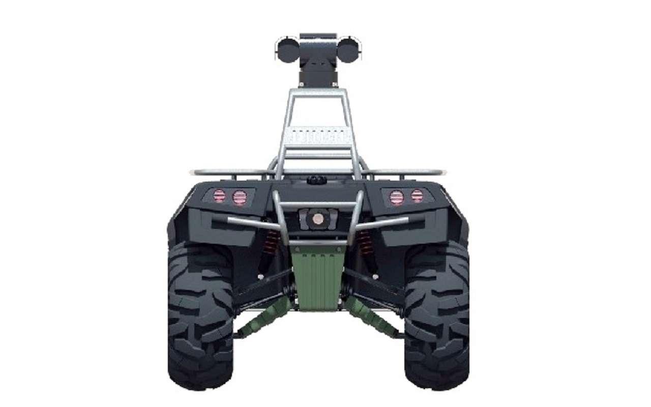 Валли намаксималках: вРоссии создали охранно-патрульного робота— фото 1125703