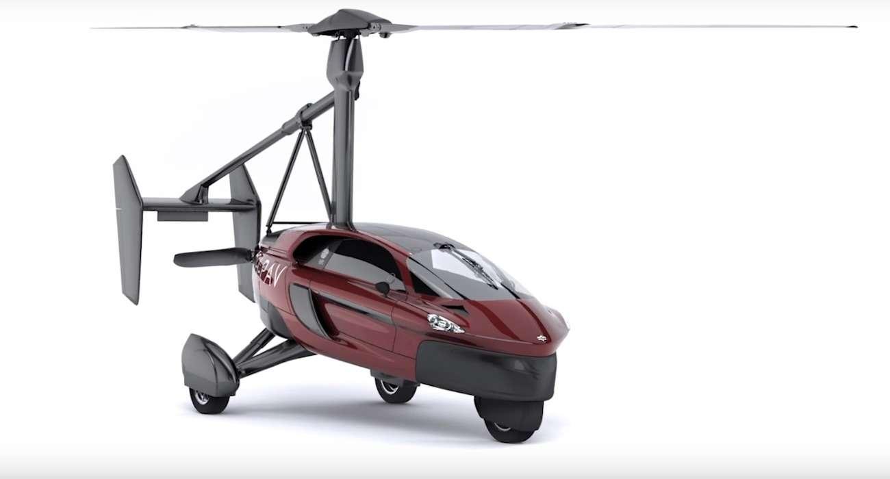 Голландская фирма PAL-V начала принимать заказы насвой аэромобиль— фото 706982