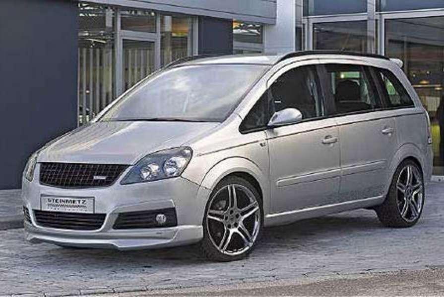 Steinmetz представляет Opel Zafira.— фото 106101