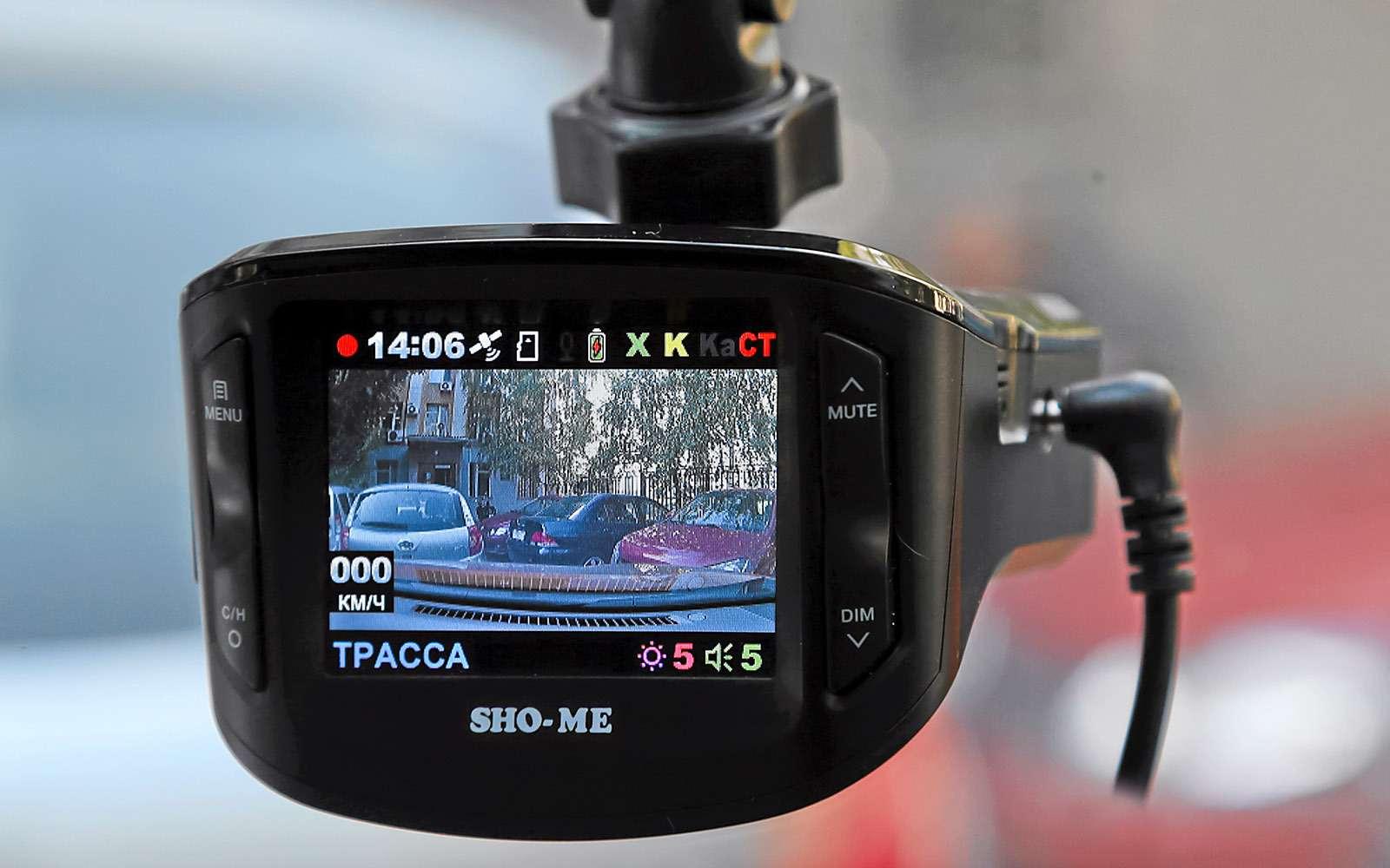 Видеорегистраторы срадар-детектором—  тест 7моделей— фото 651735