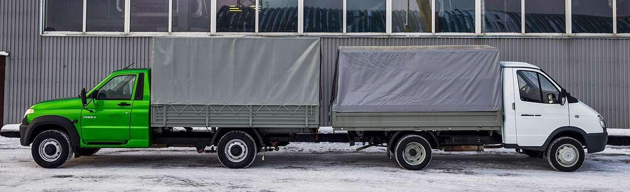 ГАЗель Бизнес против УАЗа Профи— фото 853931