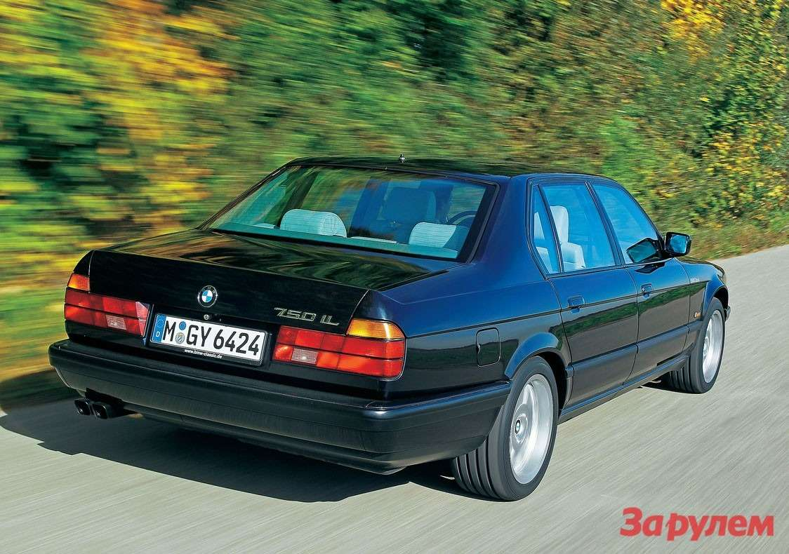 Дорогие автомобили быстро теряют вцене. Нотолько неэта «семерка» с32-м кузовом изпресспарка BMW Classic.