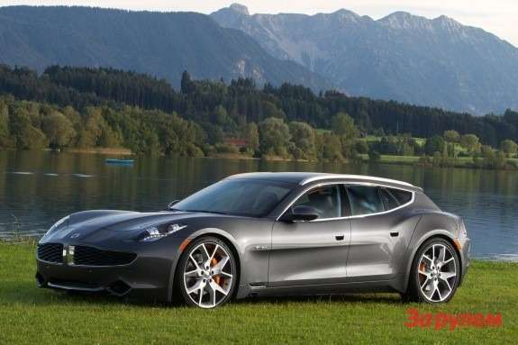 Fisker Surf side-front view