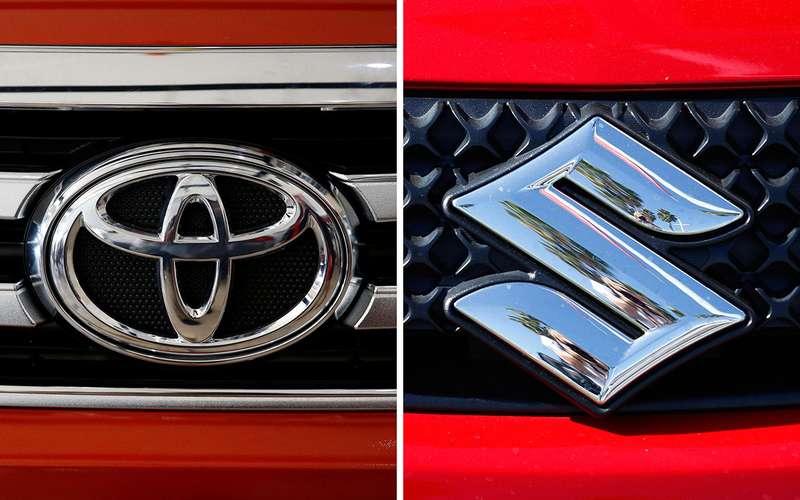 Toyota иSuzuki решили подружиться