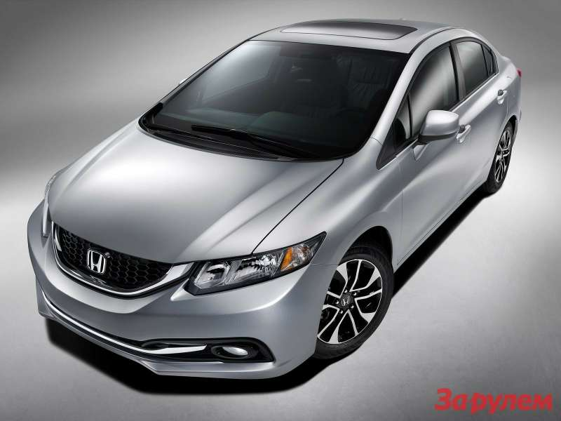 Honda Civic Sedan side-front view