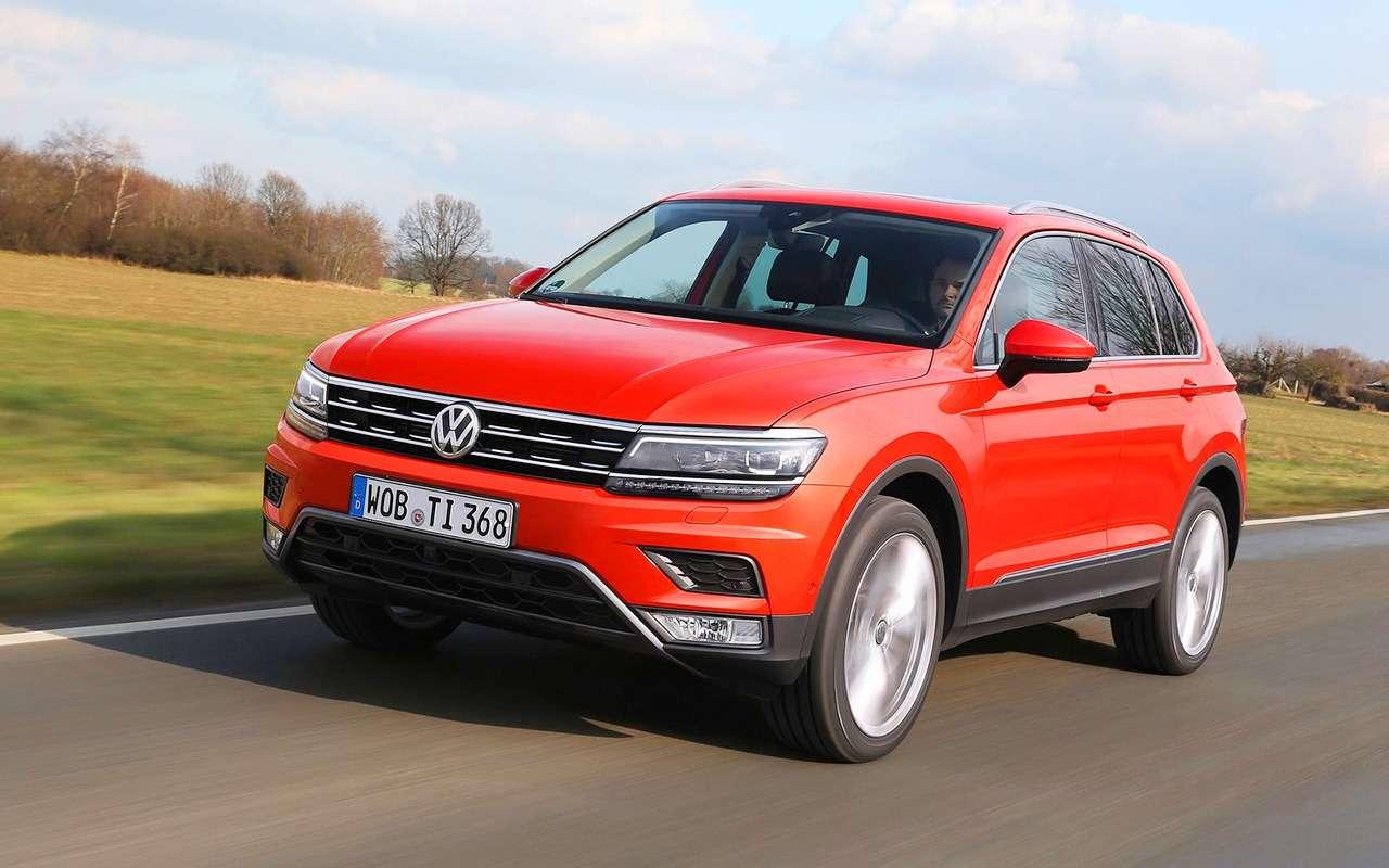 5 плюсов иодин минус Volkswagen Tiguan— фото 886326