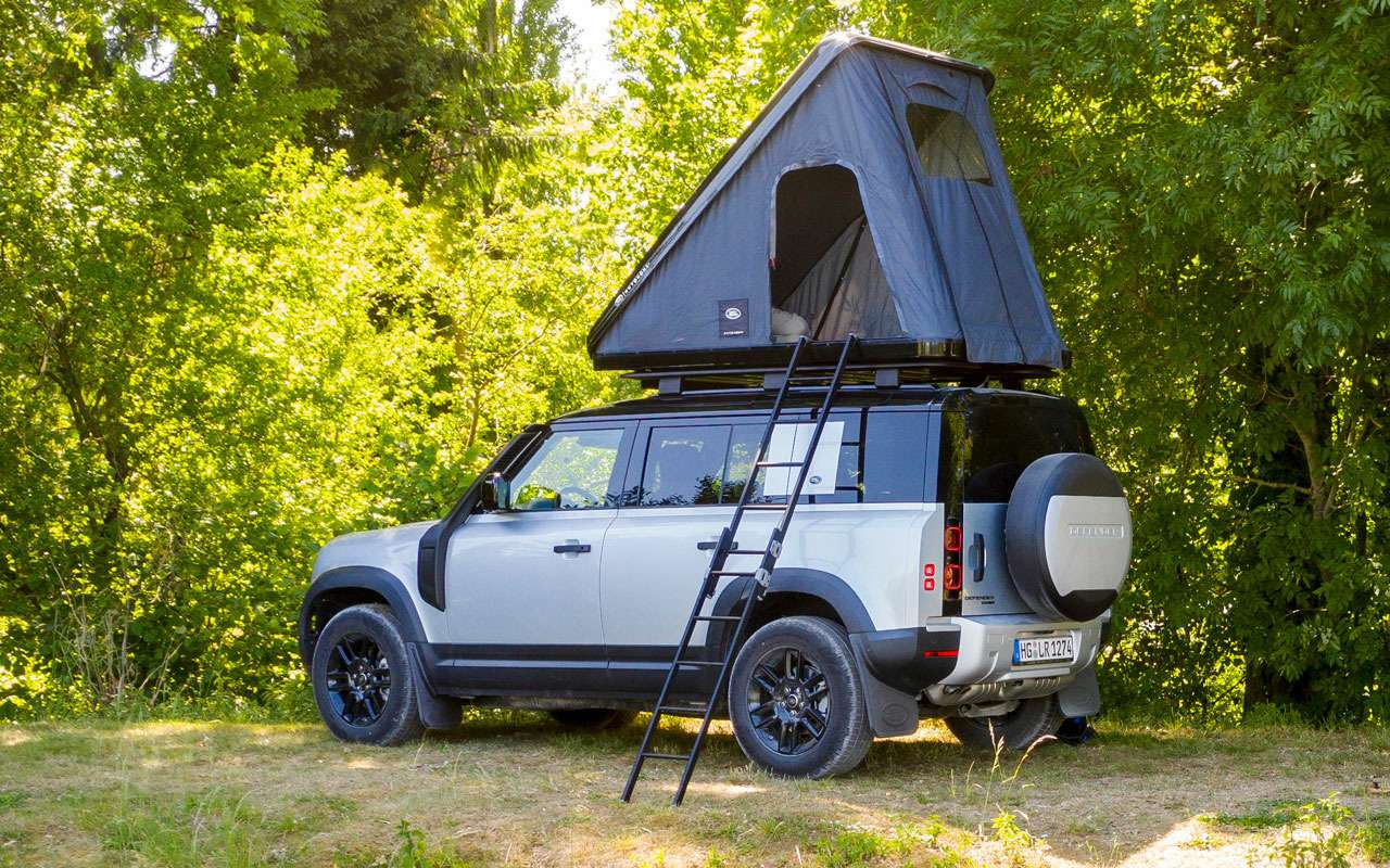 Land Rover сделал изнового Дефендера кемпер— фото 1141473