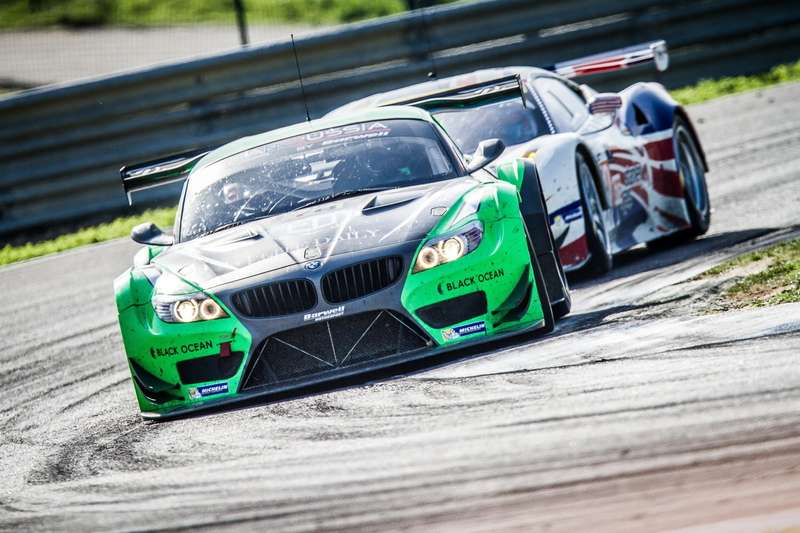 Leonid Machitski (RUS)/ Timur Sardarov (RUS)/ Jonathan Cocker (GBR) drivers ofcar #78 TEAM RUSSIA BYBARWELL  (RUS) BMW Z4GT3— 4Hours ofEstoril atCircuito Estoril— Cascais— Portugal