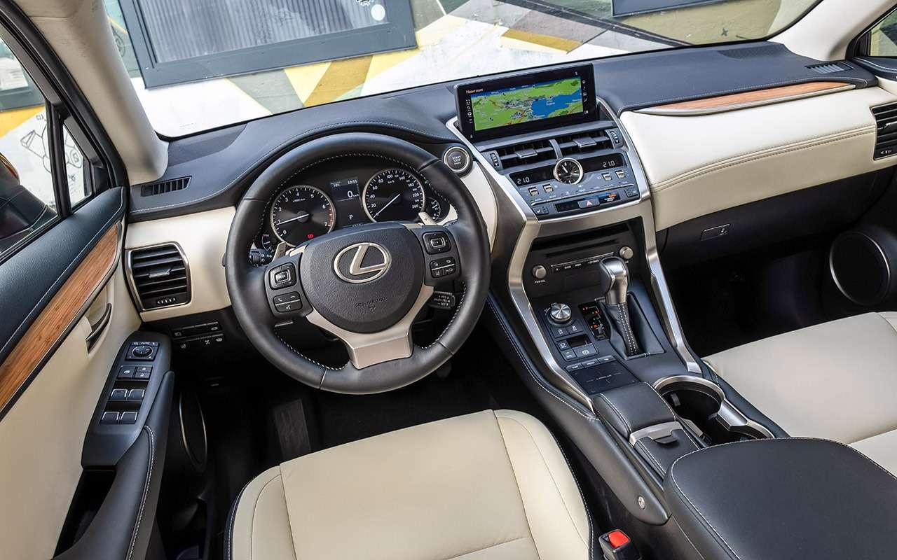 Обновленный Lexus NX: испытание Чертовым мостом— фото 876131