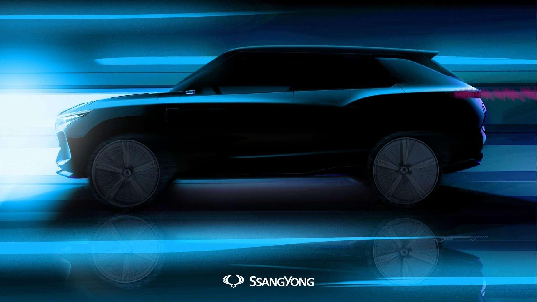 SsangYong покажет вЖеневе преемника модели Actyon— фото 846937