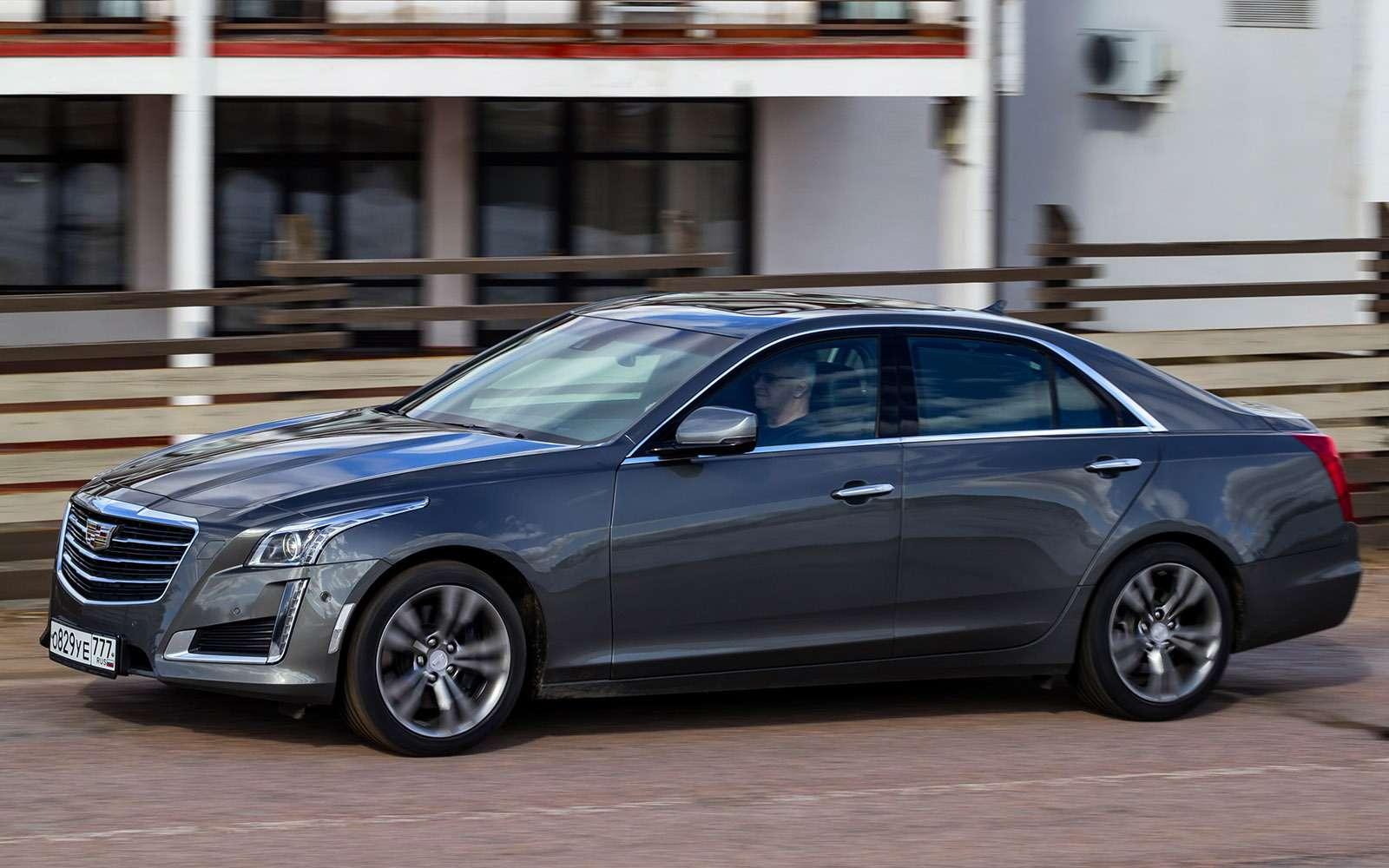 BMW5-й серии против конкурентов: кто напять?— фото 743855