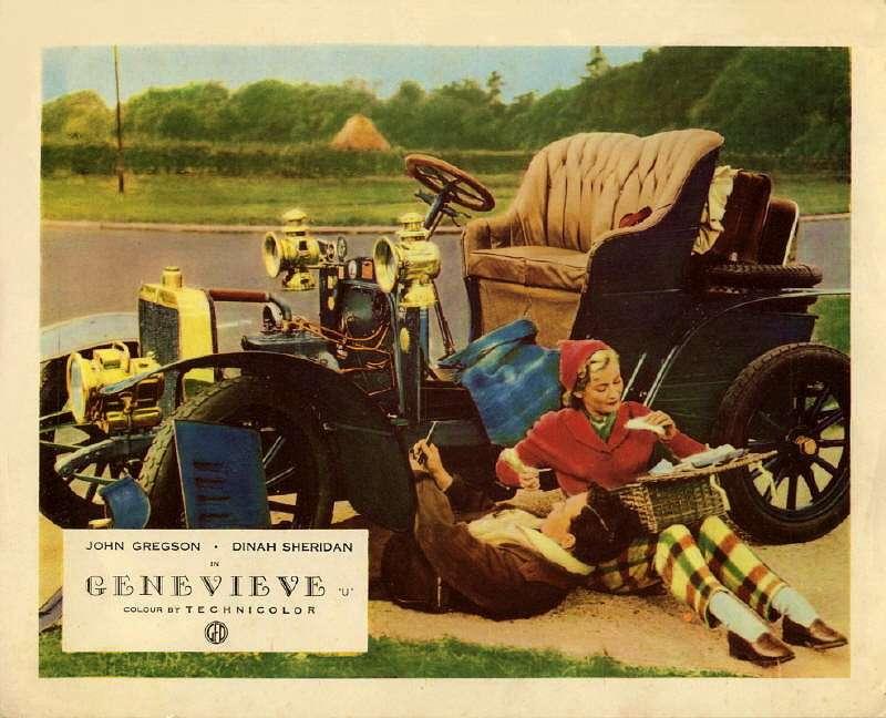 В 1953 году режиссер Генри Корнелиус снял кинокомедию «Женевьева». Так назывался автомобиль, участвующий вгонке «Лондон— Брайтон». Эту роль доверили французскому двухцилиндровому Darracq 10/12HP 1904 года выпуска
