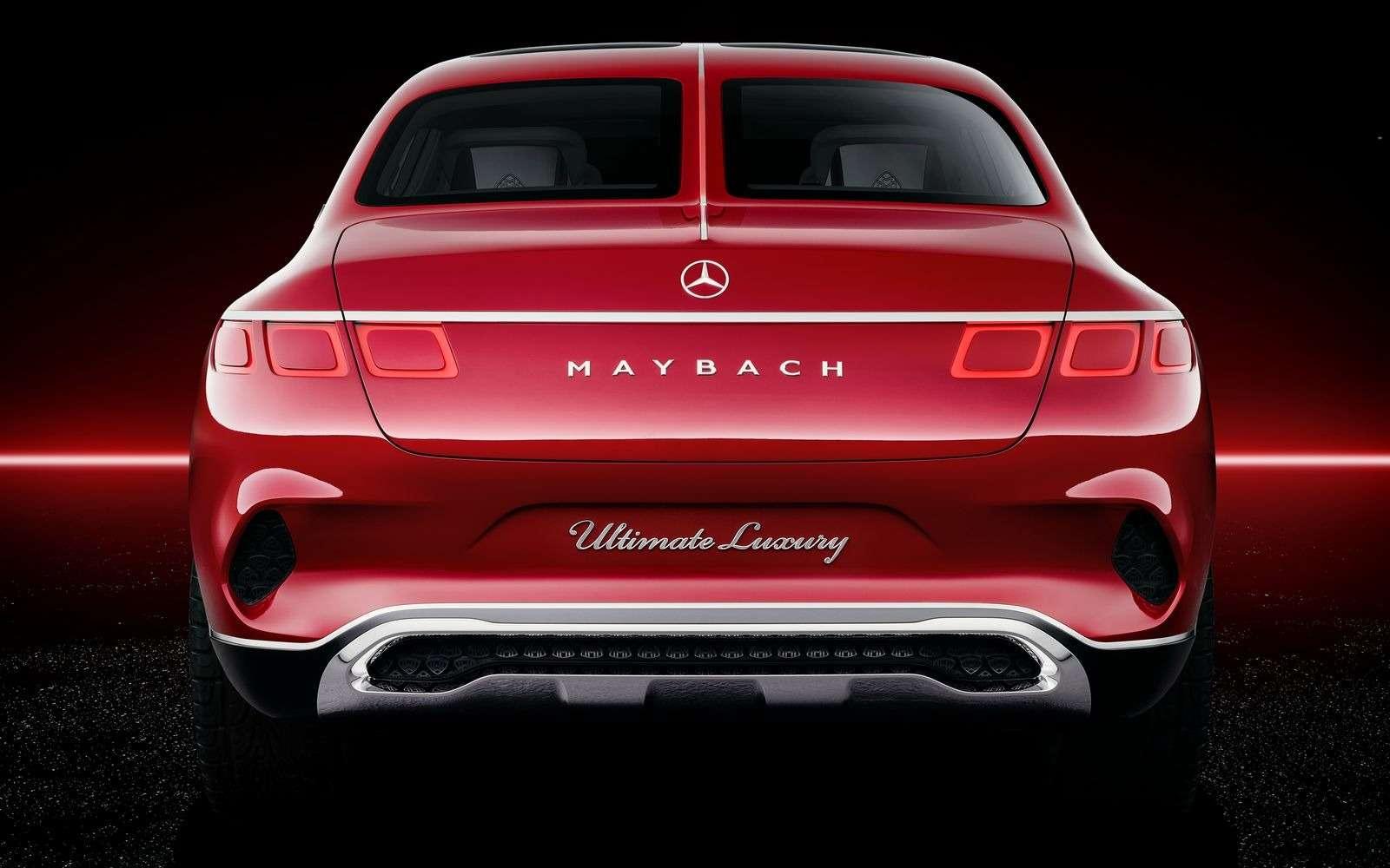 Кросс-седан Mercedes-Maybach Ultimate Luxury: золото, чайник, электричество— фото 865359