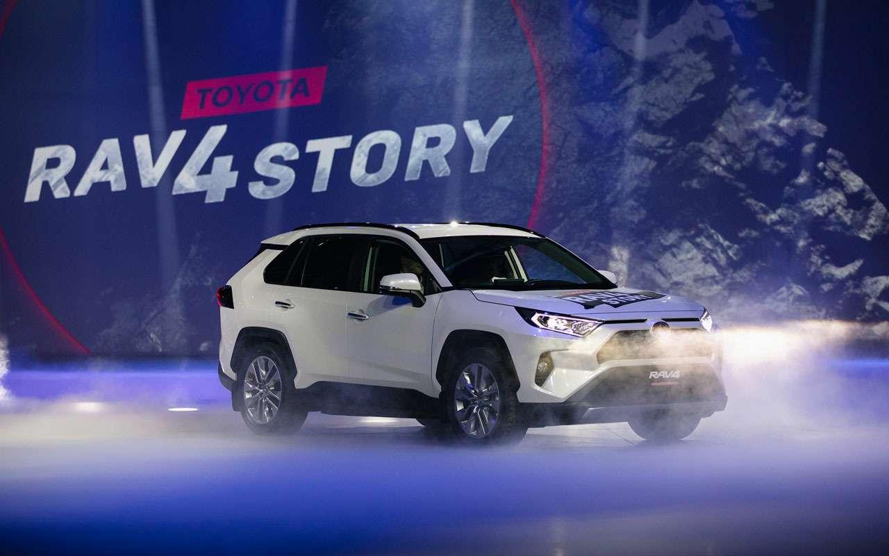 Toyota представила RAV4: онедет надвух колесах!— фото 1010703