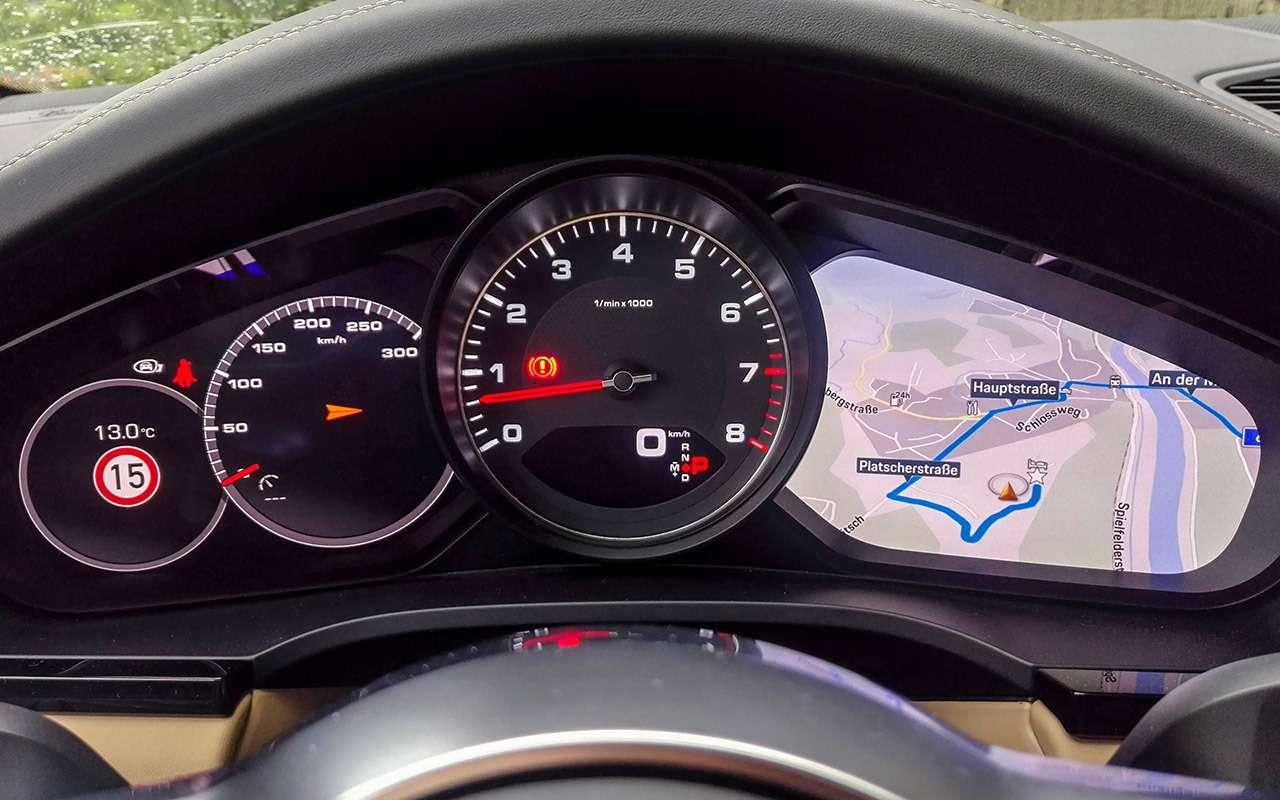 Самый дорогой Porsche Cayenne— тест-драйв «Зарулем»— фото 985041