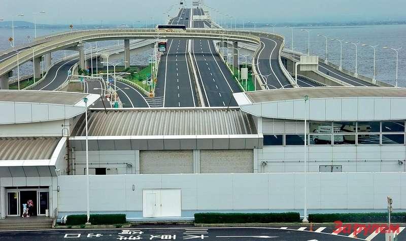 Токийский туннель Аква-Лайн