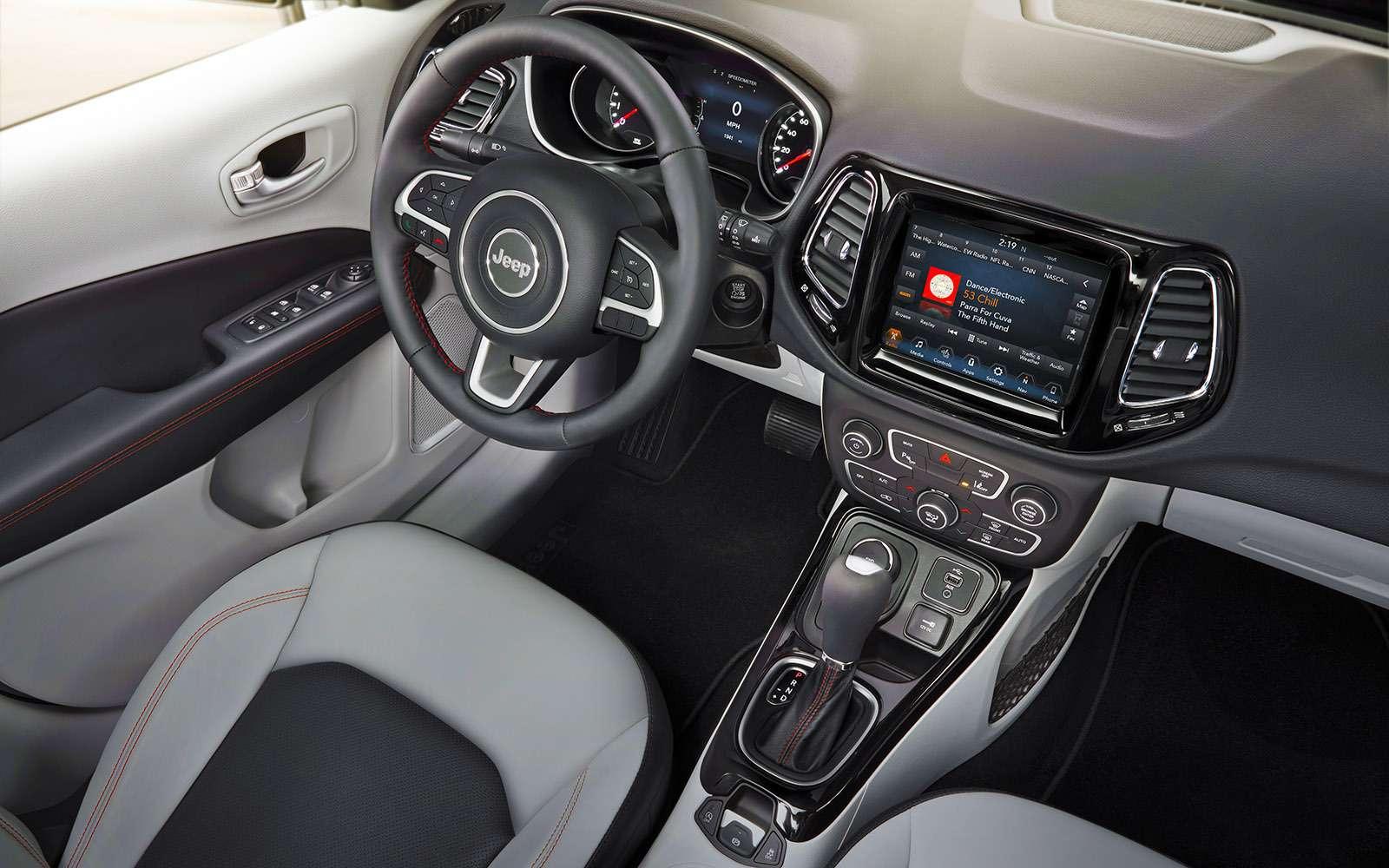 Новый Jeep Compass— тест-драйв ЗР— фото 778105