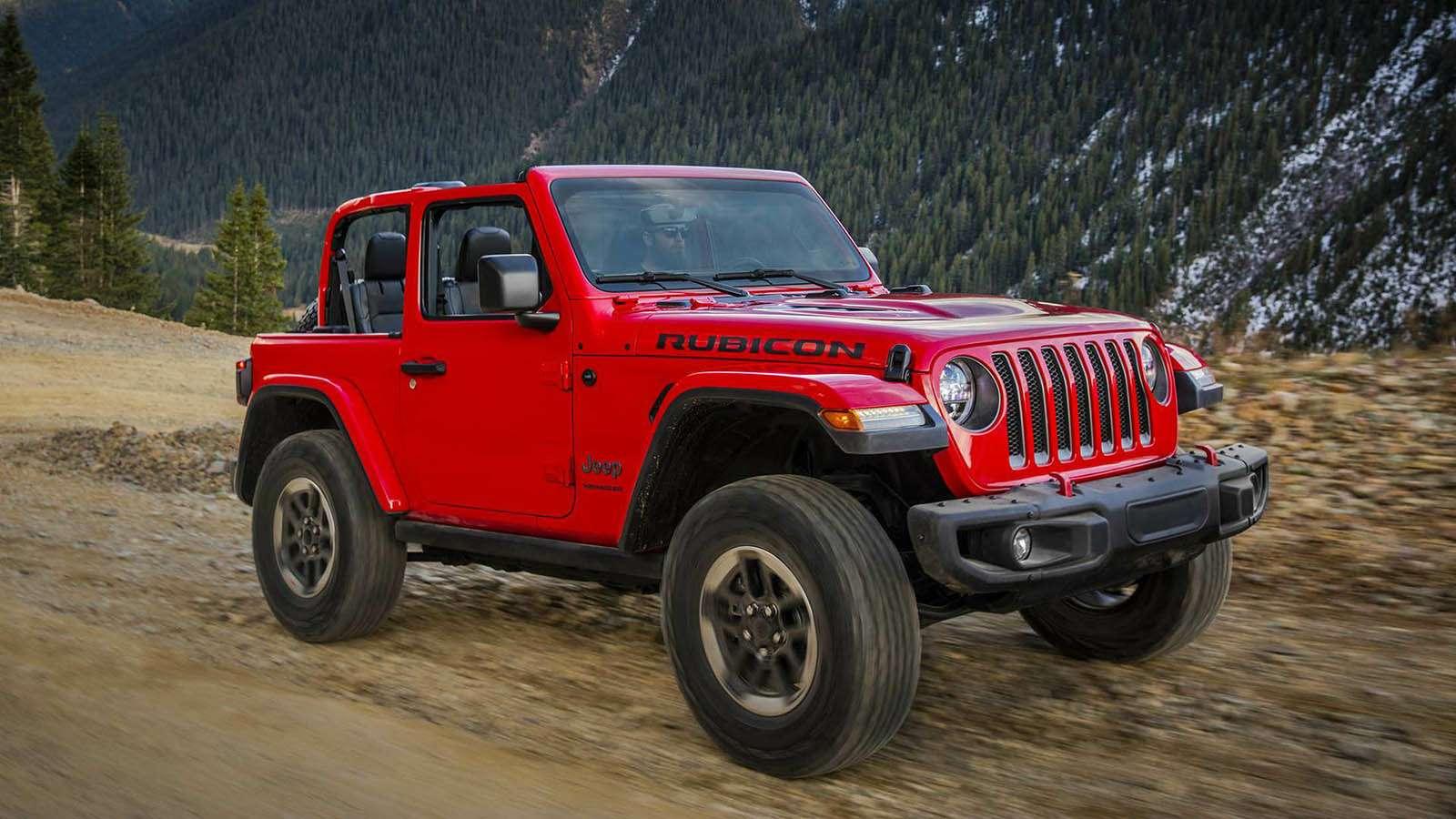 Новый Jeep Wrangler: найди десять отличий— фото 821251