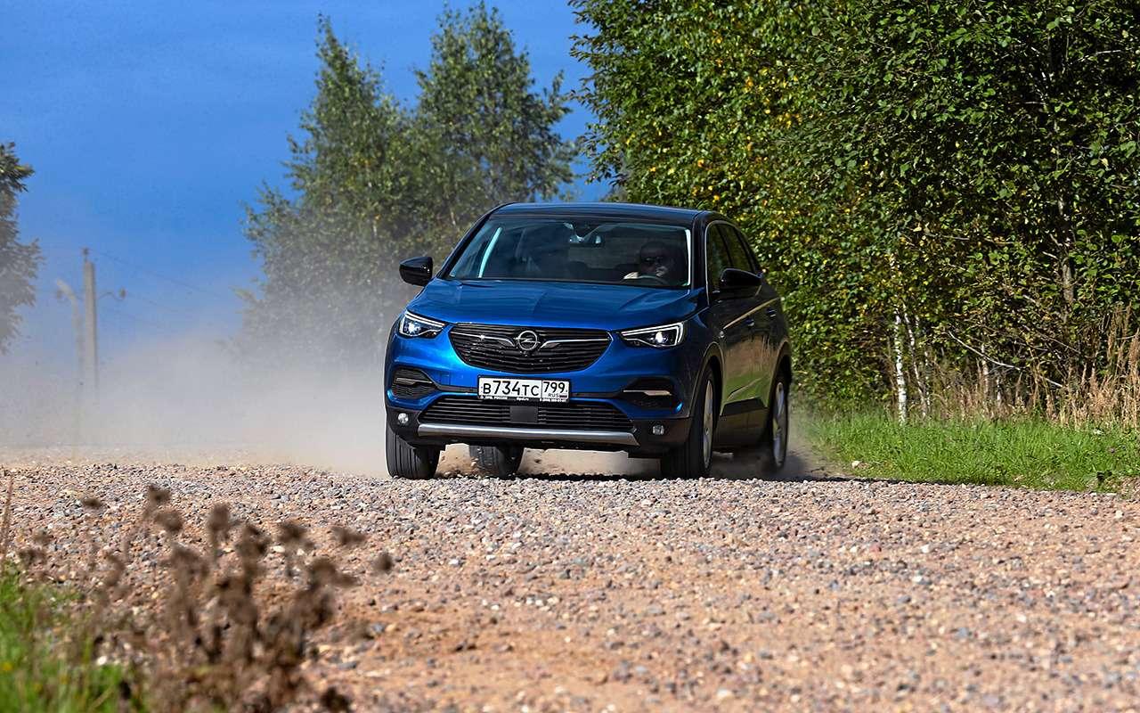 Неравный тест: Opel Grandland XиToyota RAV4— фото 1200329