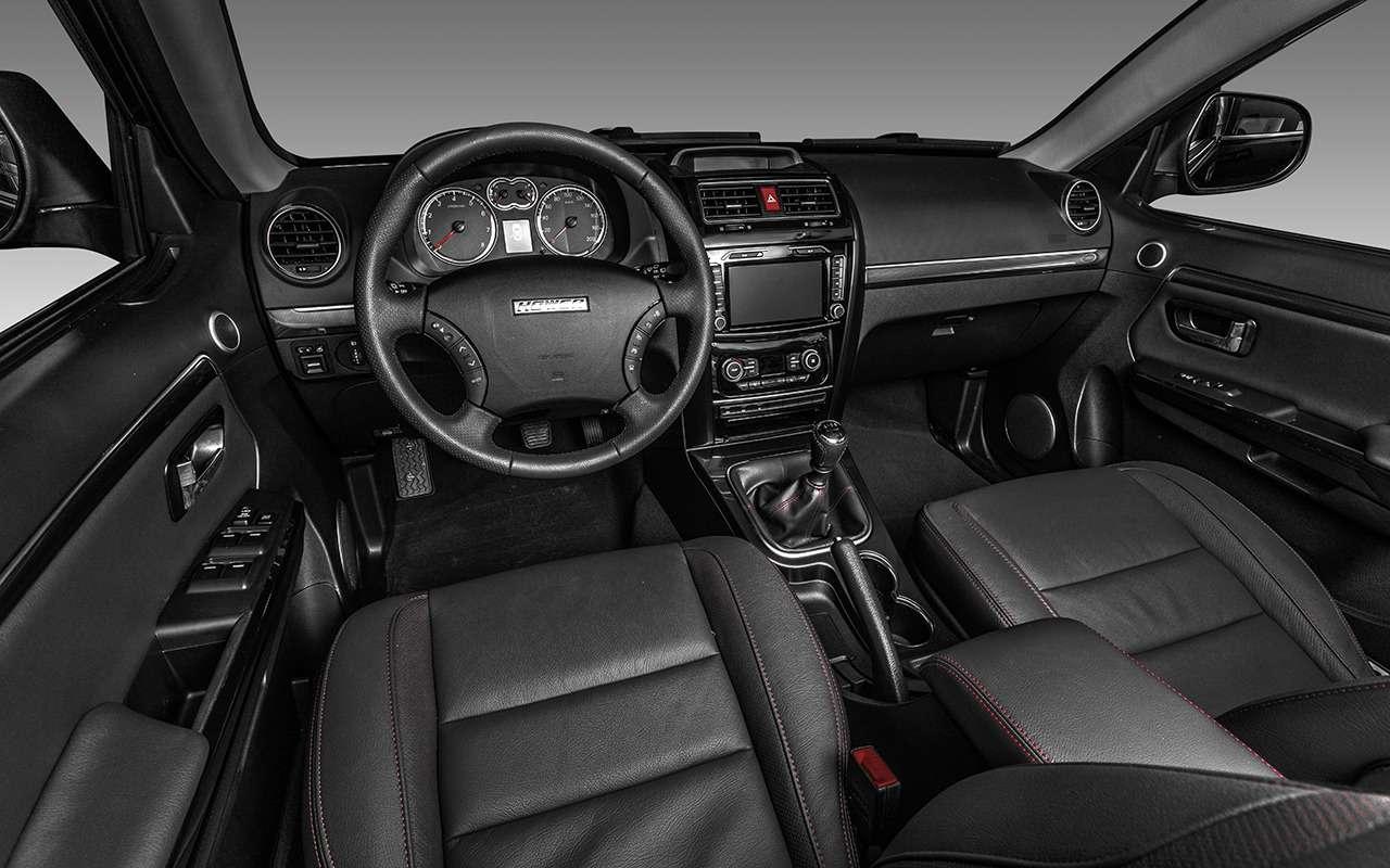 Обновленный УАЗ Патриот иего главные конкуренты: выбираем лучший вариант— фото 906892