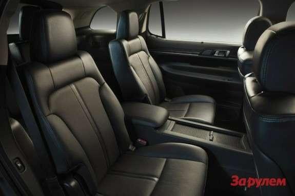 Lincoln MKT interior 2