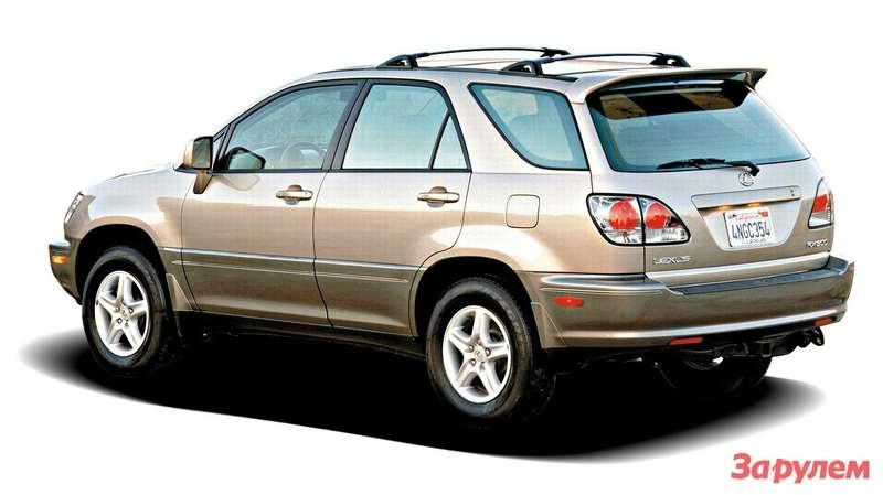 Lexus RX300 2002 модельного года