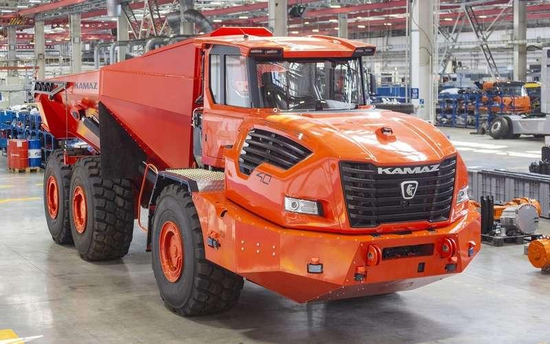 КАМАЗ раскрыл характеристики нового супергрузовика Геркулес
