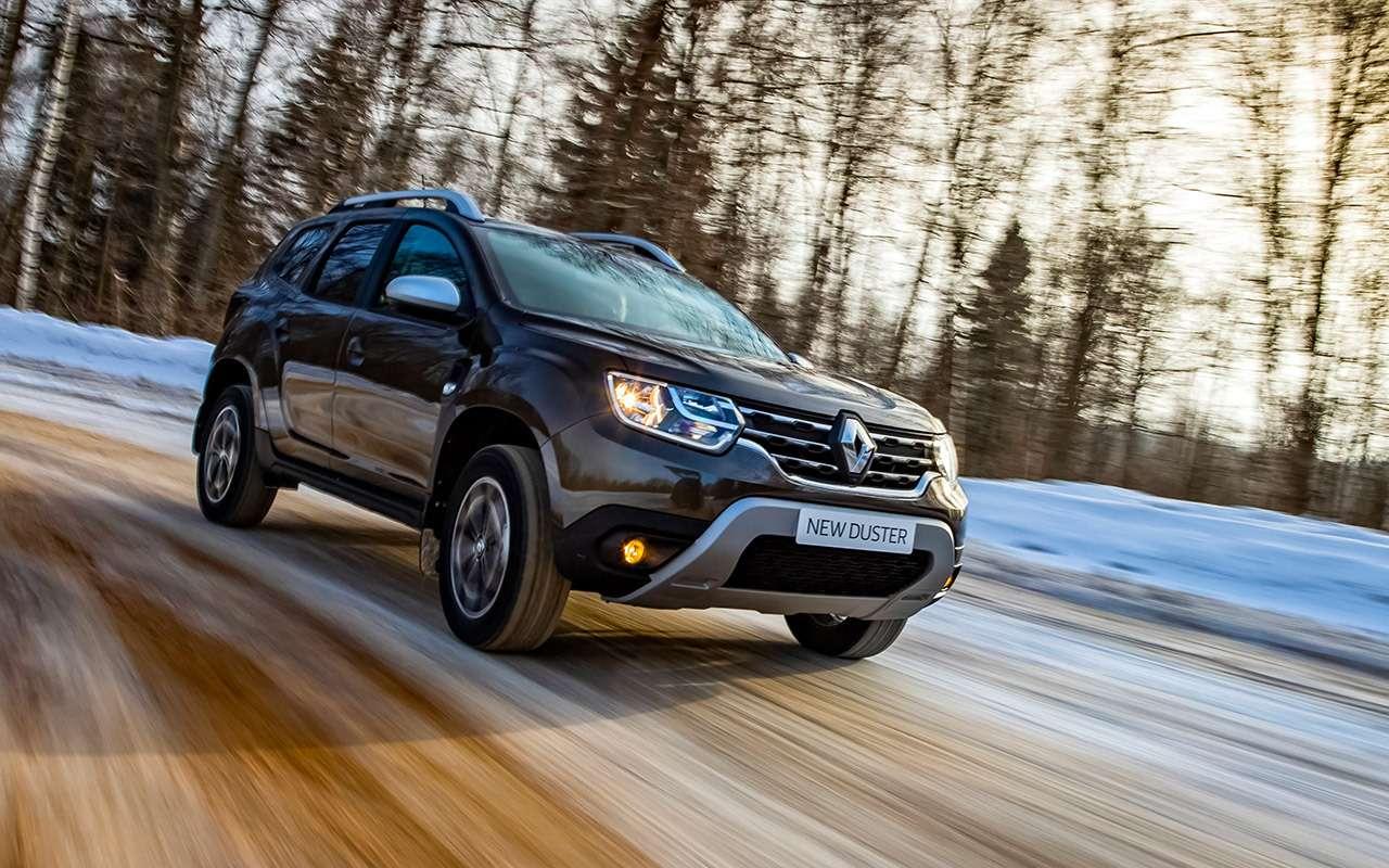 Новый Renault Duster стурбо имеханикой— первый тест— фото 1227556