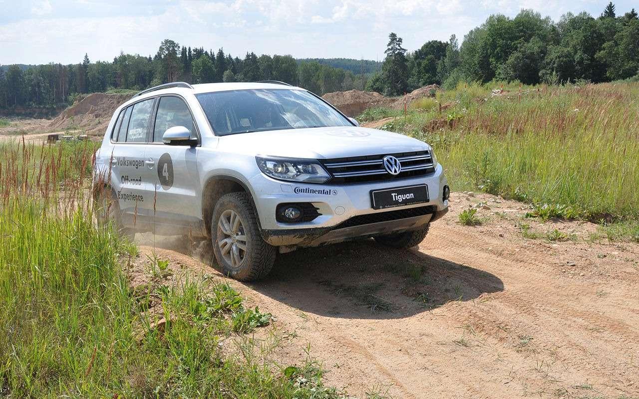 Volkswagen Tiguan спробегом: как некупить хлам