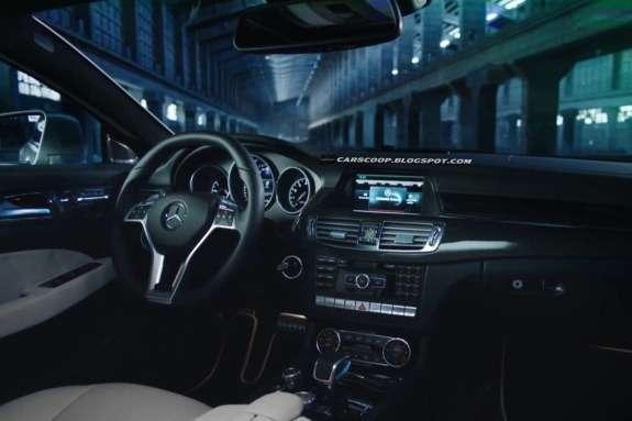 Mercedes-Benz CLS 63AMG Shooting Brake inside