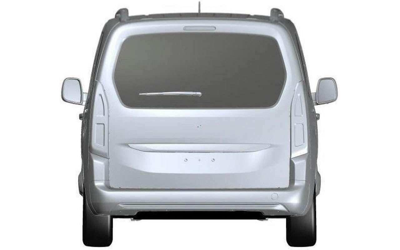 Четвертая модель Opel дляРоссии— первые фото— фото 983983
